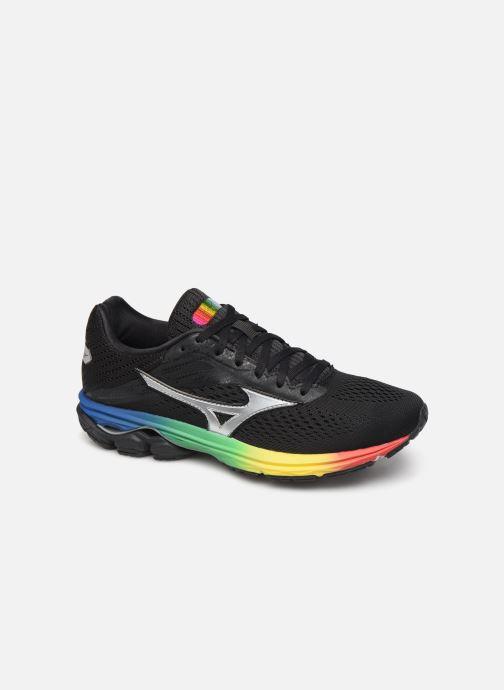 Chaussures de sport Mizuno Wave Rider 23 Noir vue détail/paire