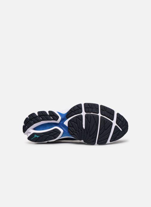 Chaussures de sport Mizuno Wave Rider 23 Bleu vue haut