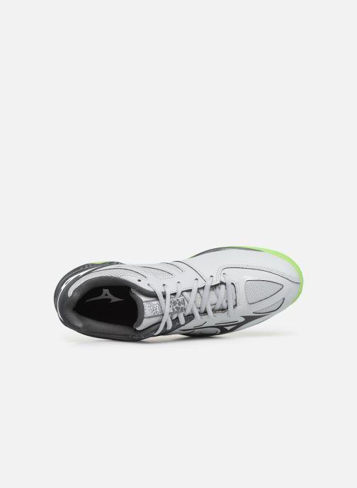 Zapatillas de deporte Mizuno Thunder Blade 2 Gris vista lateral izquierda