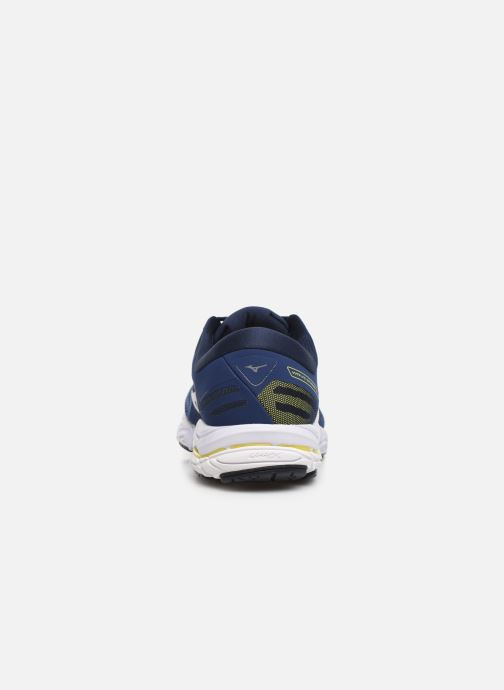 Chaussures de sport Mizuno Wave Stream 2 Bleu vue droite