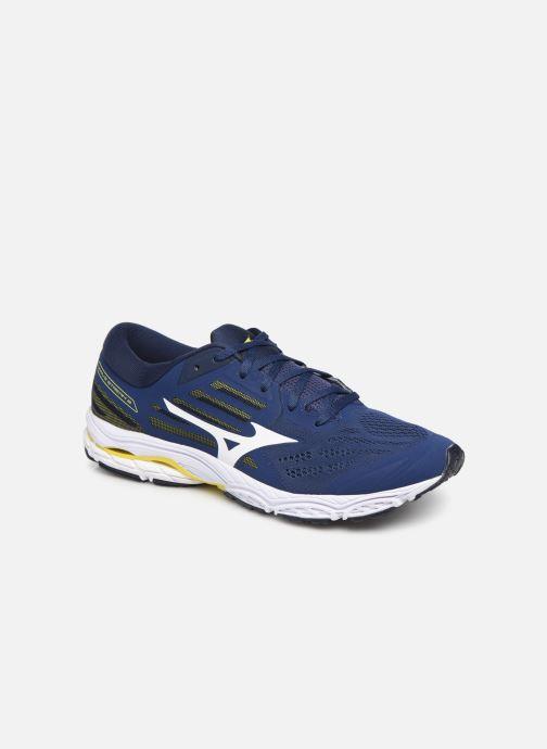 Chaussures de sport Mizuno Wave Stream 2 Bleu vue détail/paire