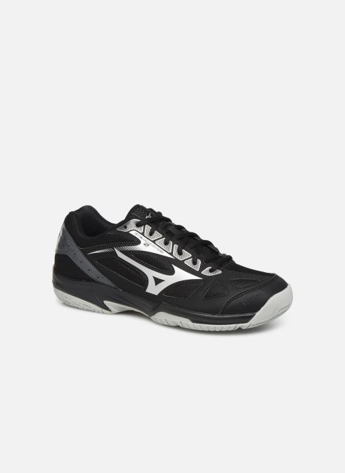 Sport shoes Mizuno Cyclone speed 2 Black detailed view/ Pair view