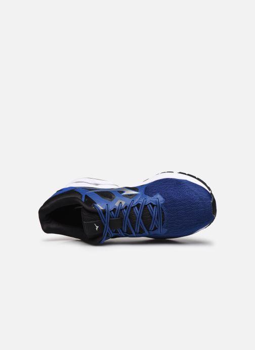 Zapatillas de deporte Mizuno Wave Kizuna Azul vista lateral izquierda