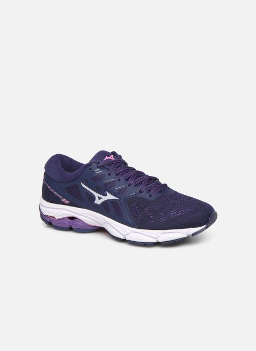 Sport shoes Mizuno Wave Ultima Purple detailed view/ Pair view