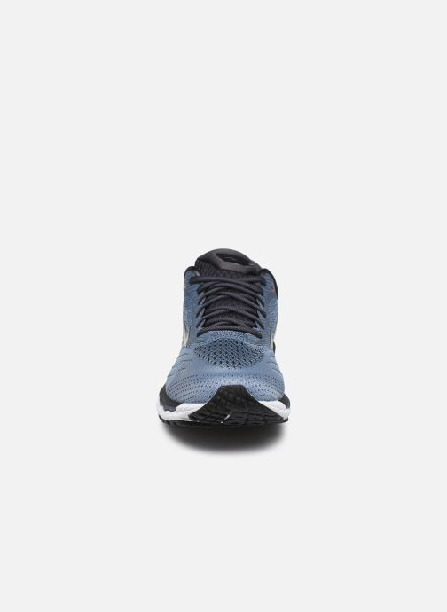 Chaussures de sport Mizuno Wave Sky 3 Gris vue portées chaussures