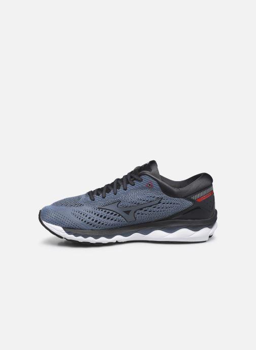 Chaussures de sport Mizuno Wave Sky 3 Gris vue face