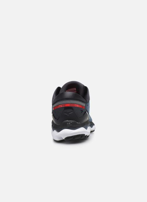 Chaussures de sport Mizuno Wave Sky 3 Gris vue droite