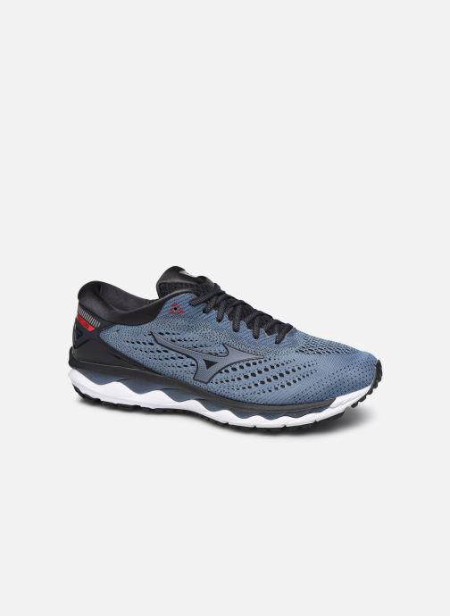 Chaussures de sport Mizuno Wave Sky 3 Gris vue détail/paire