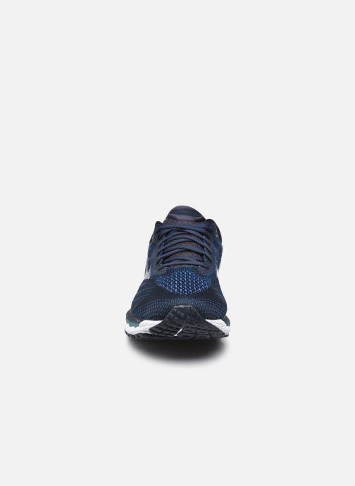 Zapatillas de deporte Mizuno Wave Sky 3 Azul vista del modelo