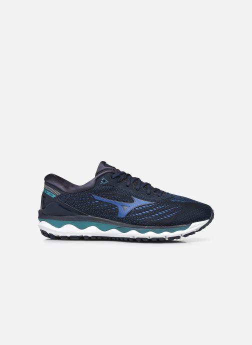 Zapatillas de deporte Mizuno Wave Sky 3 Azul vistra trasera