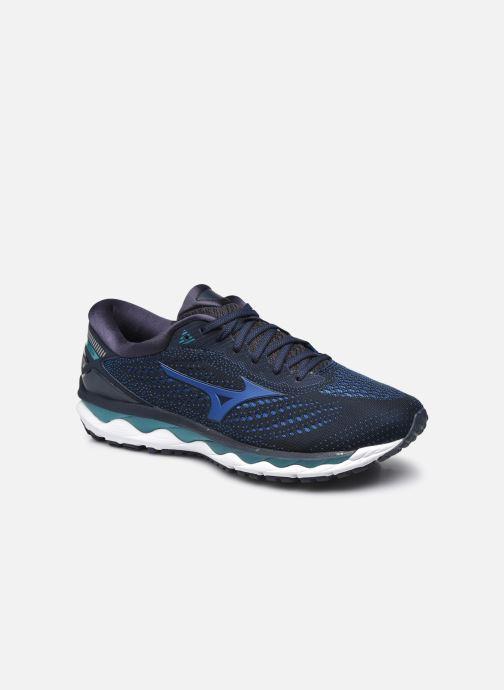 Zapatillas de deporte Mizuno Wave Sky 3 Azul vista de detalle / par