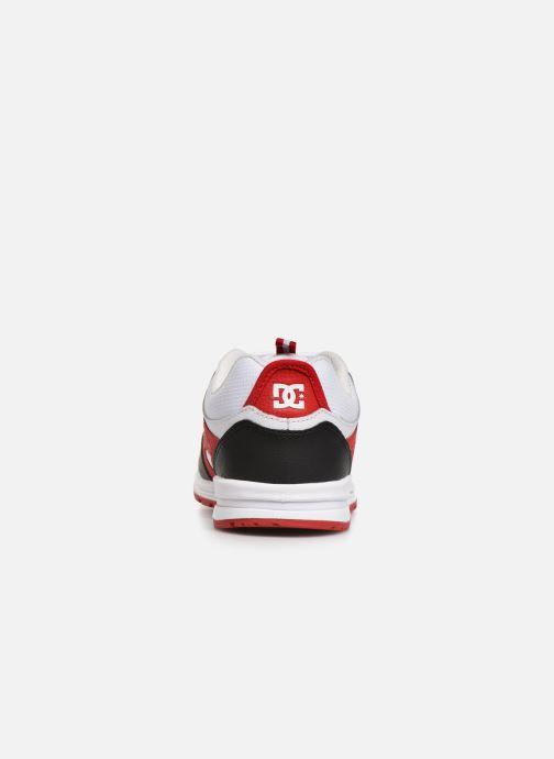 Deportivas DC Shoes Kalis Lite M Rojo vista lateral derecha