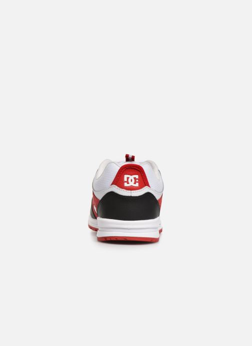 Baskets DC Shoes Kalis Lite M Rouge vue droite