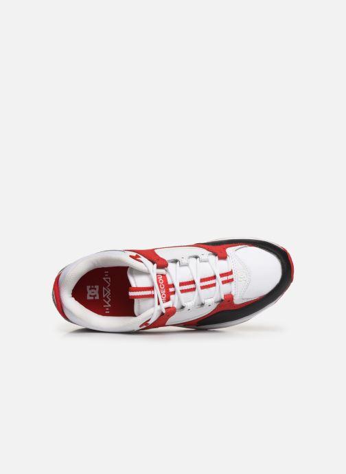 Baskets DC Shoes Kalis Lite M Rouge vue gauche