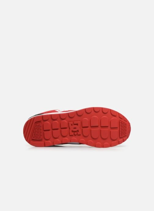 Baskets DC Shoes Kalis Lite M Rouge vue haut