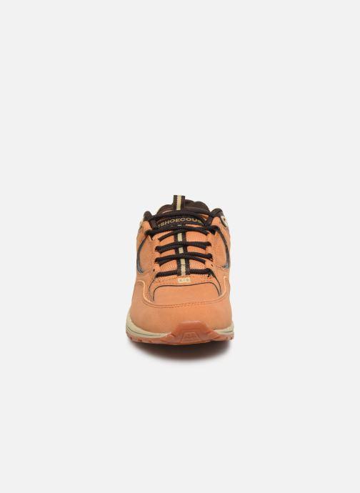 Baskets DC Shoes Kalis Lite SE Marron vue portées chaussures