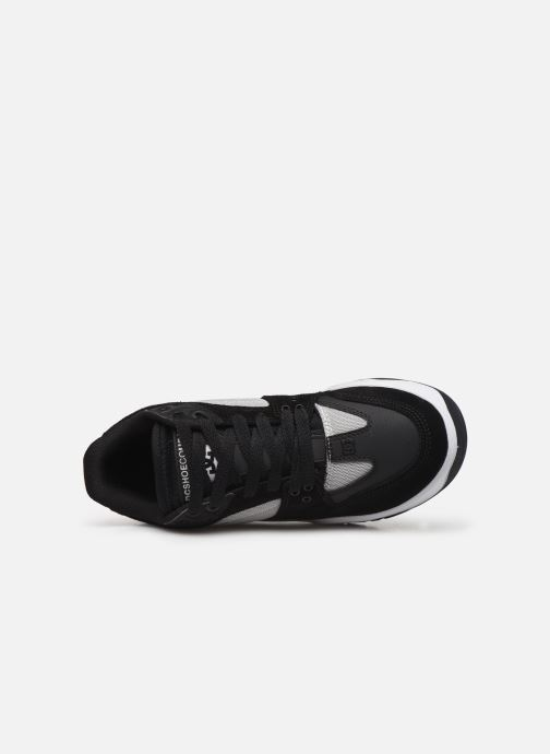 Deportivas DC Shoes Maswell Negro vista lateral izquierda