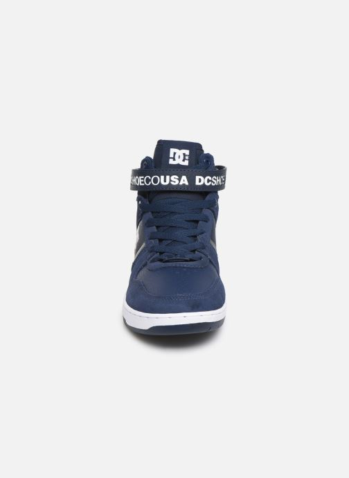 Baskets DC Shoes Pensford Bleu vue portées chaussures