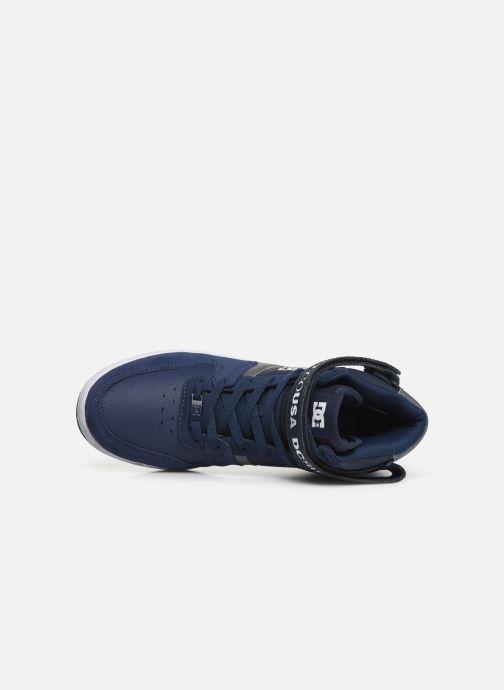 Deportivas DC Shoes Pensford Azul vista lateral izquierda