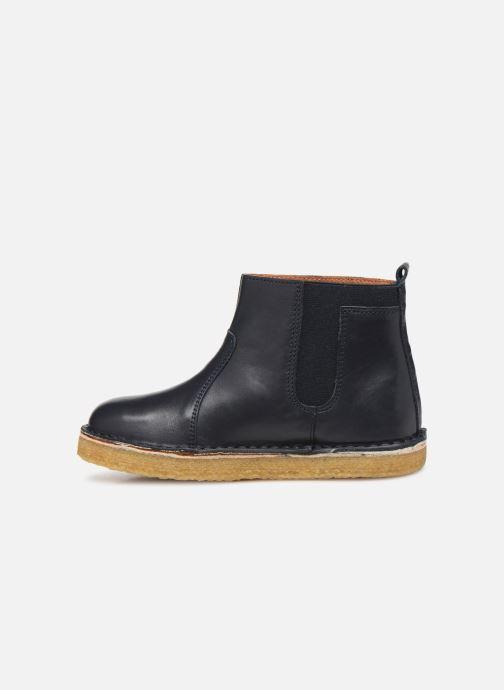 Bottines et boots Tinycottons Elastic Boot Bleu vue face