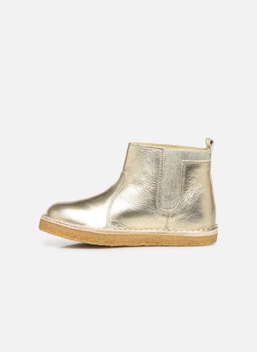 Bottines et boots Tinycottons Elastic Boot Argent vue face