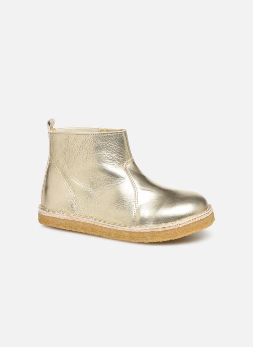 Bottines et boots Tinycottons Elastic Boot Argent vue détail/paire