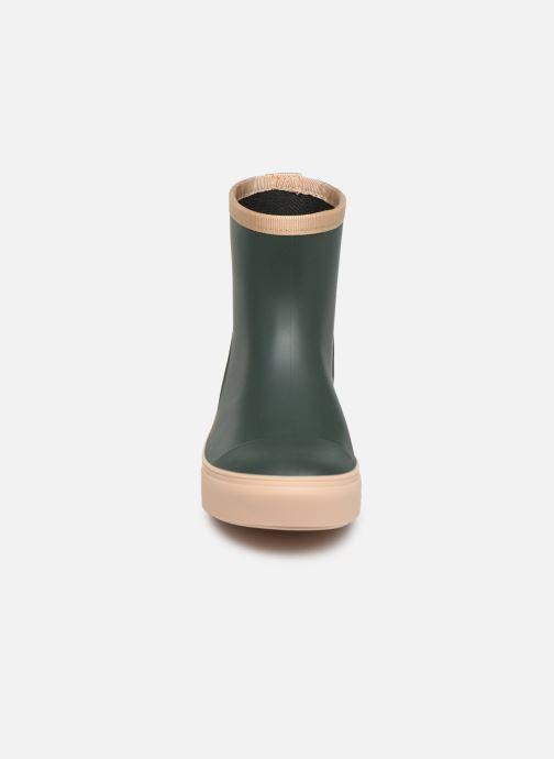 Stiefel Tinycottons Solid Rain Boot grün schuhe getragen