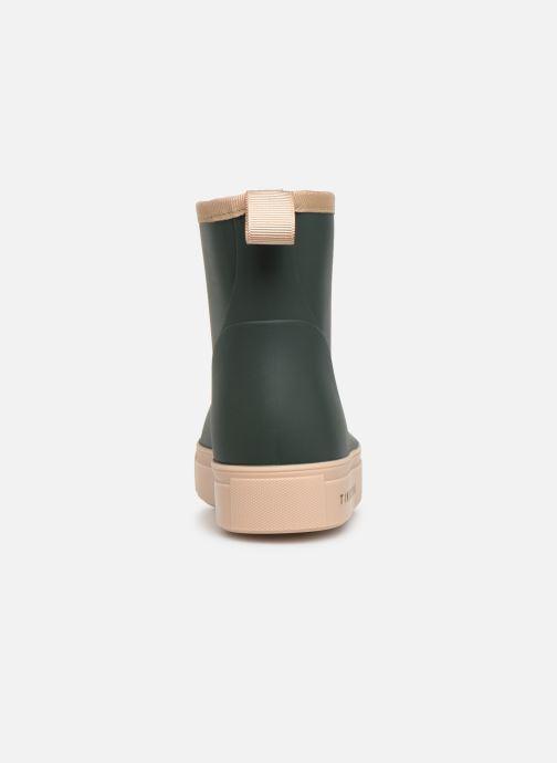 Botas Tinycottons Solid Rain Boot Verde vista lateral derecha