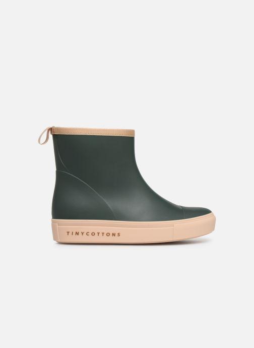 Botas Tinycottons Solid Rain Boot Verde vistra trasera