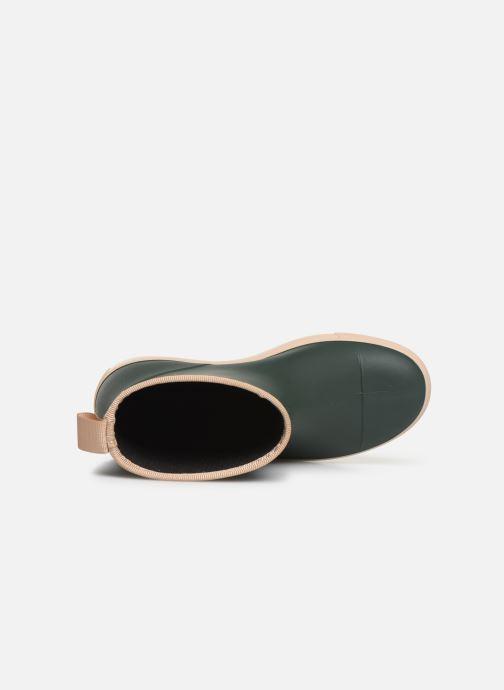 Stiefel Tinycottons Solid Rain Boot grün ansicht von links