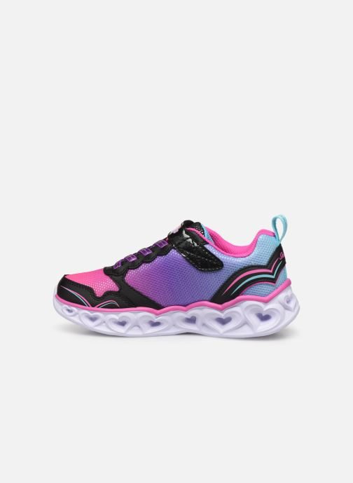 Trainers Skechers Heart Lights Love Spark Multicolor front view