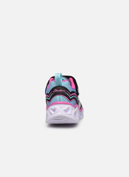 Sneaker Skechers Heart Lights Love Spark mehrfarbig ansicht von rechts