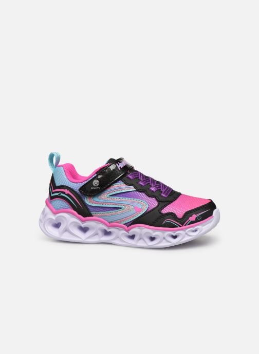 Trainers Skechers Heart Lights Love Spark Multicolor back view