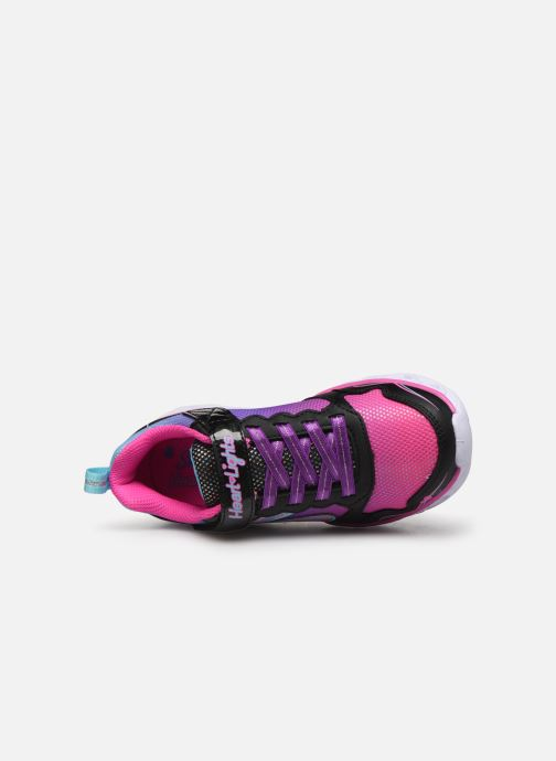 Trainers Skechers Heart Lights Love Spark Multicolor view from the left
