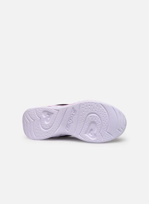 Sneaker Skechers Heart Lights Love Spark mehrfarbig ansicht von oben