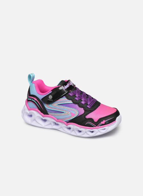 Baskets Skechers Heart Lights Love Spark Multicolore vue détail/paire