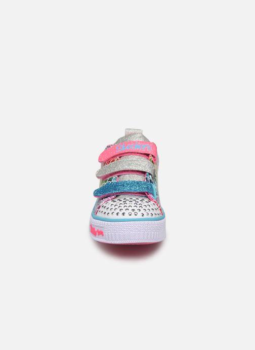 Baskets Skechers Twinkle Lite Multicolore vue portées chaussures