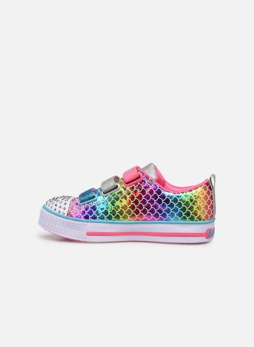 Baskets Skechers Twinkle Lite Multicolore vue face