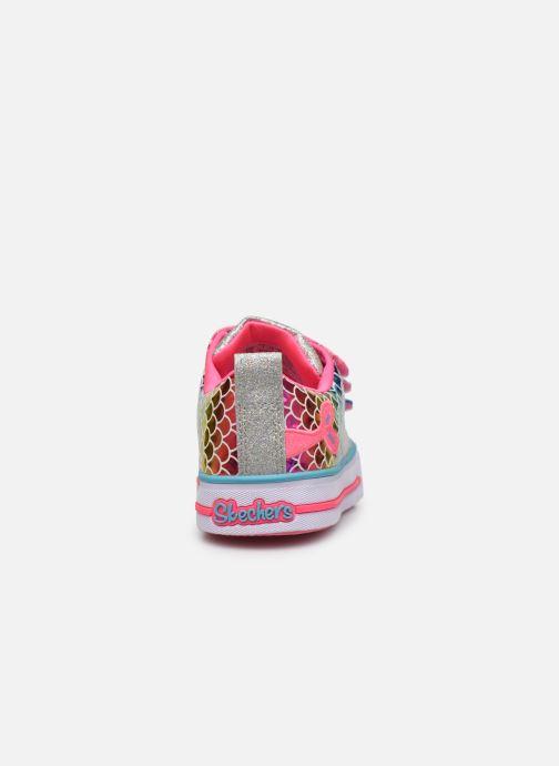 Baskets Skechers Twinkle Lite Multicolore vue droite