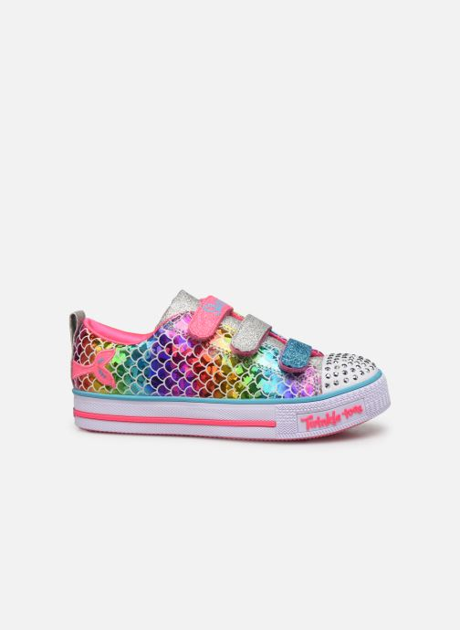 Sneakers Skechers Twinkle Lite Multicolor achterkant
