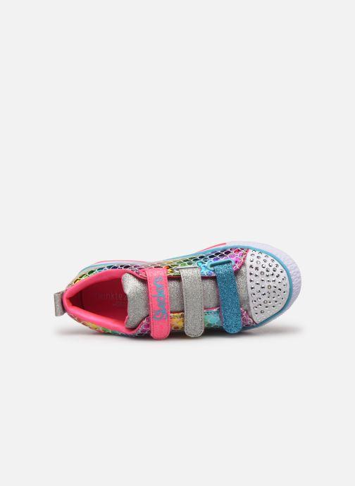 Baskets Skechers Twinkle Lite Multicolore vue gauche