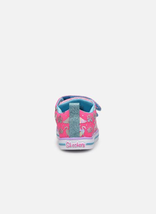 Baskets Skechers Sparkle Lite Multicolore vue droite
