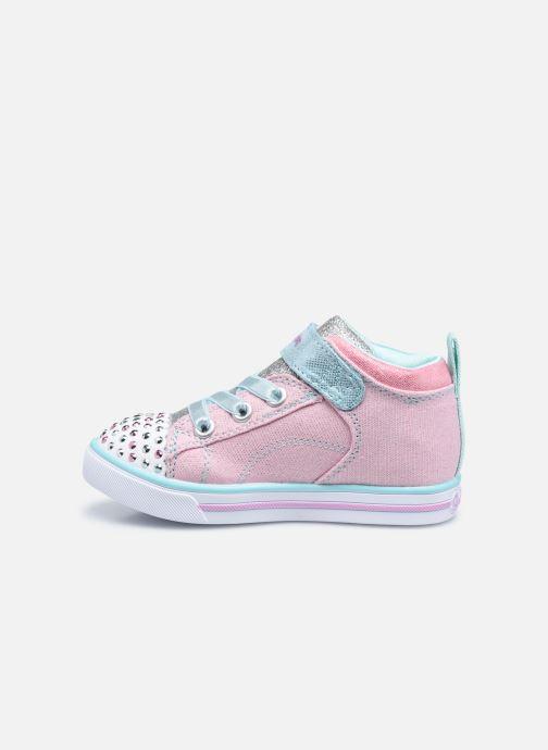 Sneakers Skechers Sparkle Lite Rosa immagine frontale