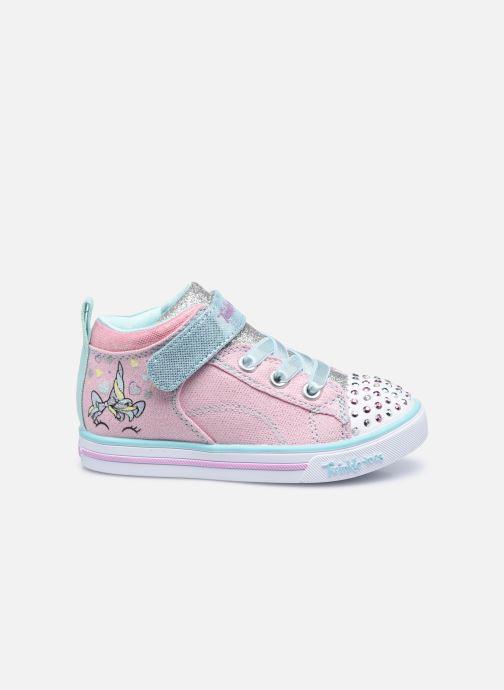 Sneakers Skechers Sparkle Lite Rosa immagine posteriore
