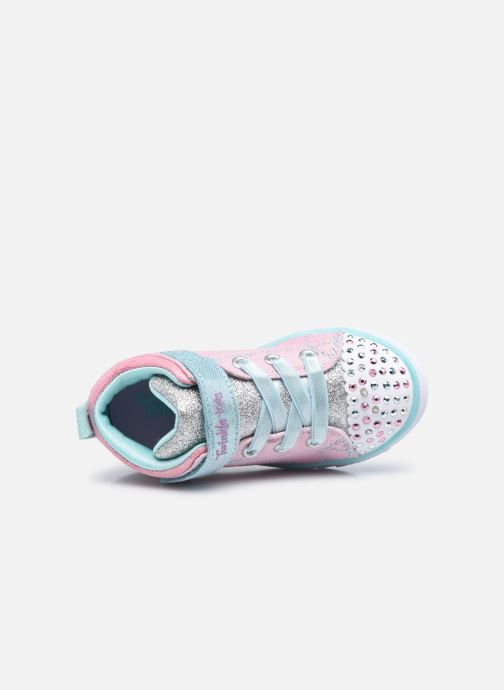 Sneakers Skechers Sparkle Lite Rosa immagine sinistra