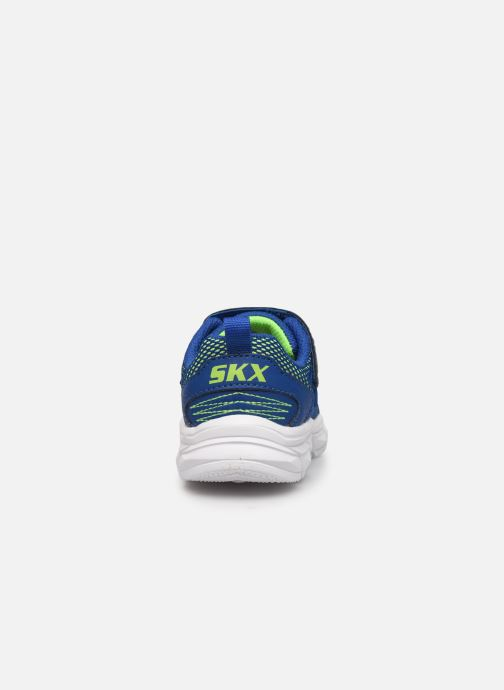 Sneakers Skechers Advance Azzurro immagine destra