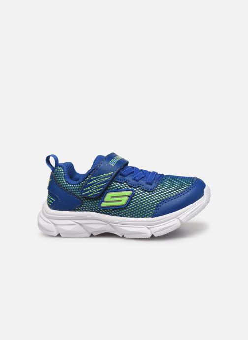 Sneakers Skechers Advance Azzurro immagine posteriore