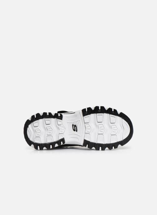 Sneakers Skechers D'Lites Velcro Zwart boven