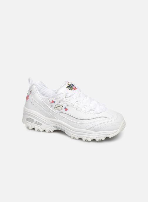 Sneakers Skechers D'Lites Kids Hvid detaljeret billede af skoene