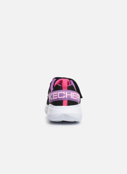 Chaussures de sport Skechers Go Run Fast Noir vue droite